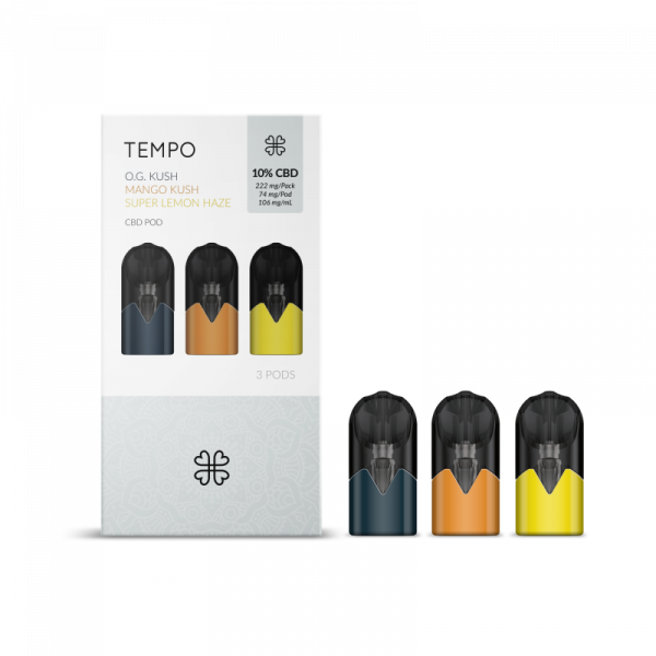 tempo pods rechargeable